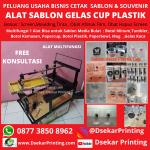 Alat Sablon Cup Plastik -DsekarPrinting 087738508962